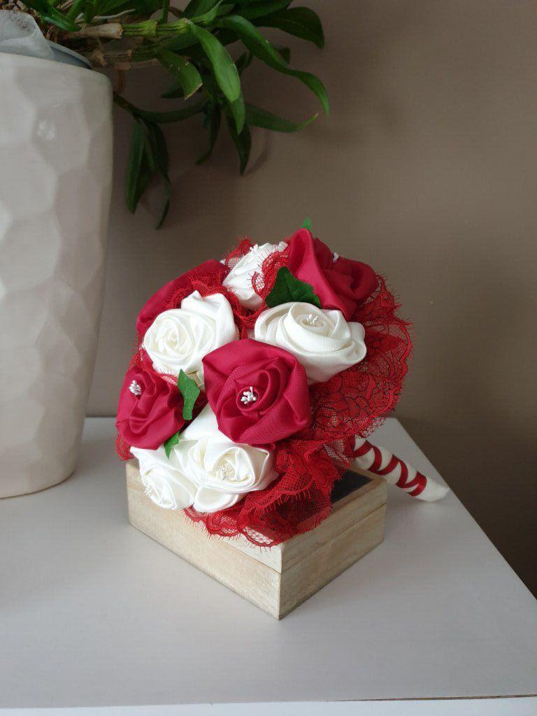 Bouquets De Mariee Original En Tissu